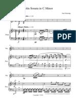 Violin Sonata in C Minor_10_19 - Full Score
