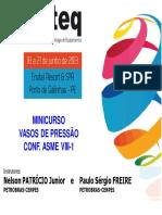 0 2013 COTEQ PATRICIO Minicurso Curso de Vasos de Press_o Rev0