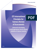 Fairness Review International