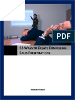 58 Ways to Create Compelling Sales Presentations