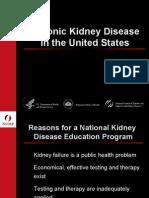 Chronic Kidney Disease Awareness Program In US