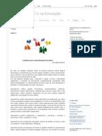 Artigo - TIC's Na Educação_ Textos