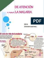 Guía de Atención Para La Malaria