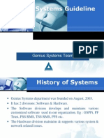 Systems Guideline for BD and BCVS