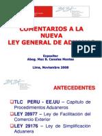 Comentarios a La Nueva Ley General Dqqe Aduanas