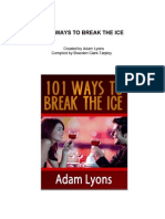101 Ways to Break the Ice - Adam Lyons