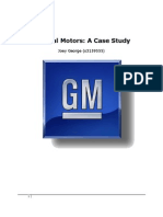 GMC a Case Study
