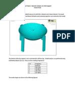 Dynamic ADynamic Analysis of a Dish Supportnalysis of a Dish Support