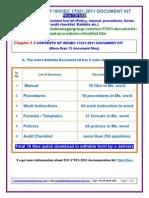 ISO 17021 Manual Documentation