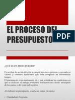 Proceso Del Presupuesto