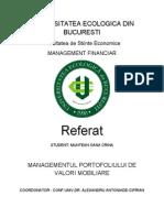 Managementul portofoliului