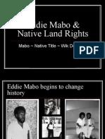 Eddie Mabo & Native Land Rights