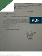 CMO 03 2014 Amendments to Inward Foreign Manifests