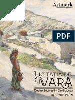 Catalog Licitatia de Vara 10 Iunie Duplex Bucuresti Cluj Artmark