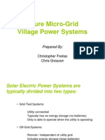 Freitas and Greacen Micro Grid Presentation
