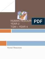 Human Resources and TQM