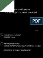 Moderna arhitektura i konstrukcije