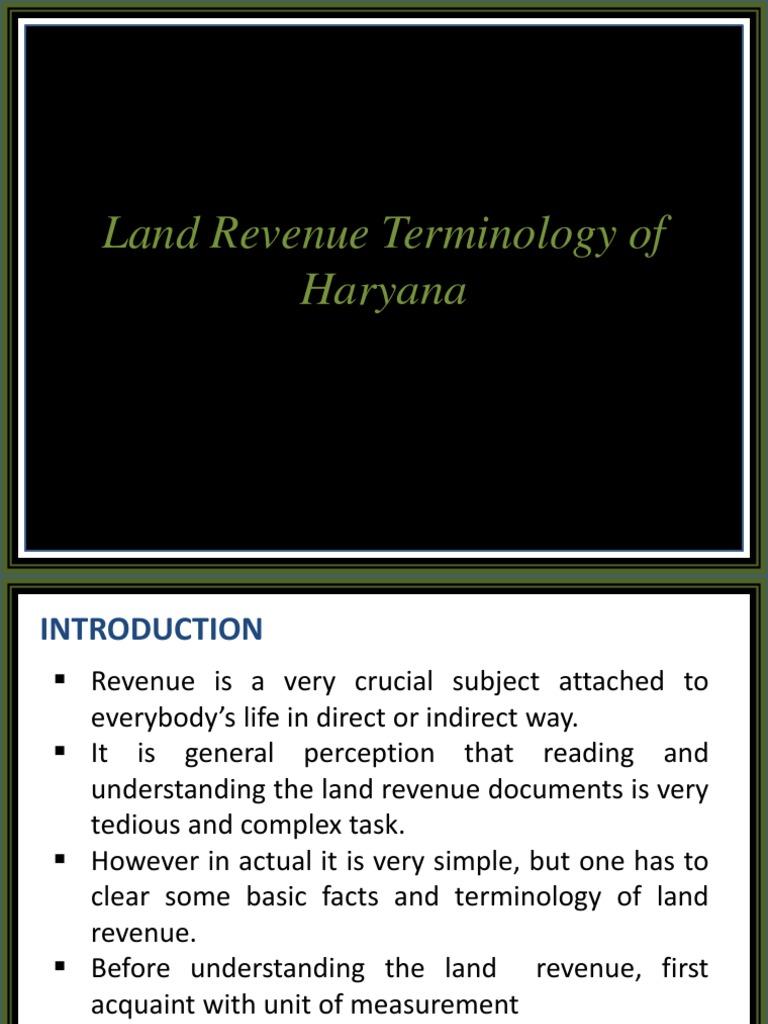 Haryana land measurement units area units of measurement nvjuhfo Gallery