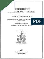 Institutiones Saecularum Litterarum-Casiodorus
