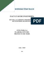 Formato de La Estructura Del Proyecto Tesis2013-1