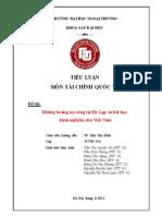 Khủng Hoảng Nợ Công Tại Hy Lạp Và Bài Học Kinh Nghiệm Cho Việt Nam