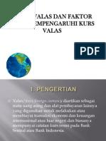 Bursa Valas Dan Faktor Yang Mempengaruhi Kurs Valas