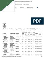 Punjabstudy.com Merit List Uhs 2011 AIMC MBBS Admission 2011