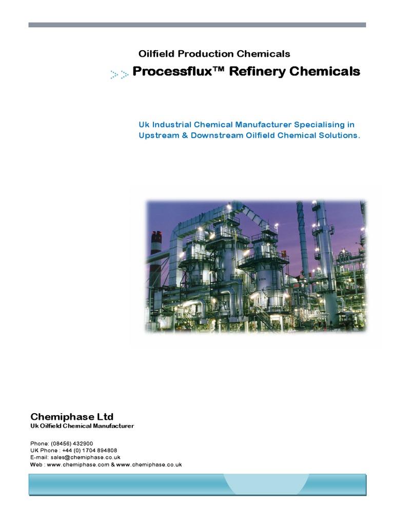 ProcessFlux - Oil Refining Chemical Treatments   Oil
