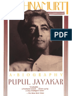 Pupul Jayakar - Krishnamurti. a Biography