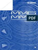 Manuale Yamaha MM 6