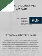 Samudera Pasai Dan Aceh