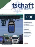 Wirtschaft in Bremen 06/2014 - Logistiksysteme