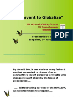 Aiama Seminar Reinvent to Globalise