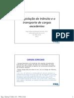 Apresentação - Legislação e Cargas Especiais