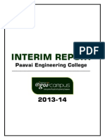 Paavai Engineering College Interim Report