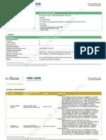 Coface InfoQuick Report Sample