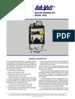 Data Sheet (English) - 8022 - Winding Kit