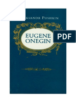Aleksandr Sergeevic Puskin - Eugene Onegin