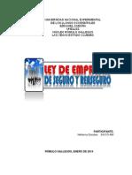 Ley de Empresas de Seguro y Reaseguro (Helianny-unesr)