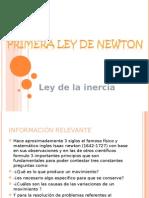 1a. Ley de Newton, ley de la inercia