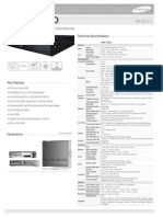 Samsung Srd-1652dp 16ch Dvr Brochure