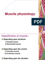Muscle Physiology 1
