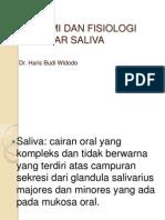 L6-Anatomi Fisiologi Saliva