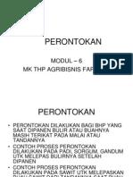 Modul 6 - Perontokan-Agri