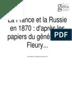 Franta Si Rusia in 1870