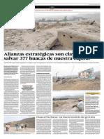Alianzas Estratégicas Son Claves Para Salvar 377 Huacas de Nuestra Capital