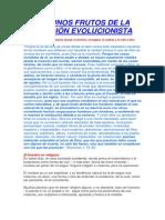 Frutos de La Religion Evolucionista