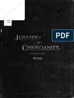 WISE, Isaac (1883) JudaismAndChristianity