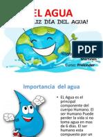 Presentacion Del Agua- Maria José