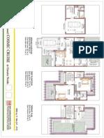 3640 Sq.ft. Villas- Plan